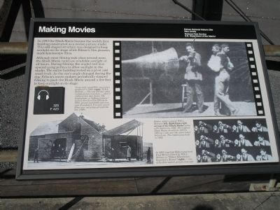 Making Movies Marker image. Click for full size.
