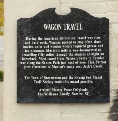 Wagon Travel Marker image. Click for full size.