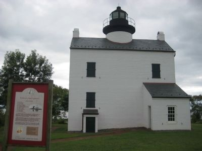 Blackistone Island Lighthouse Marker image. Click for full size.