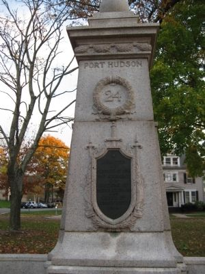 24th Regiment Connecticut Volunteers Monument image. Click for full size.
