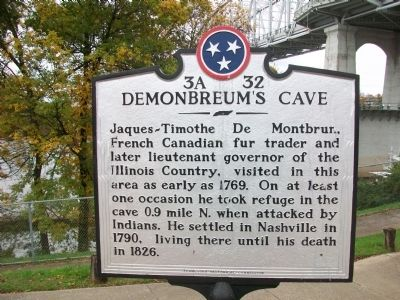 Demonbreum's Cave Marker image. Click for full size.