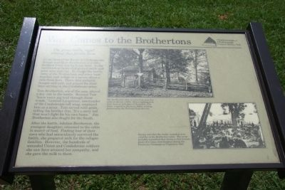 War Comes to the Brothertons Marker image. Click for full size.
