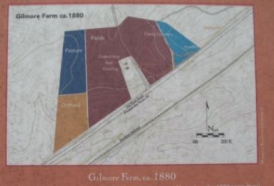 Crop Distribution at the Gilmore Farm, ca. 1880 image. Click for full size.
