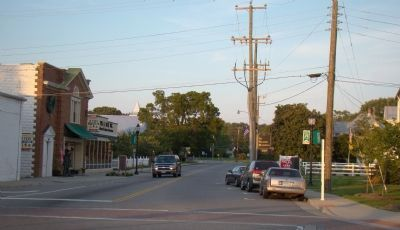 East Church Street, Kilmarnock, Virginia image. Click for full size.