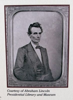 Close-up Photo - - 'Abraham Lincoln' image. Click for full size.