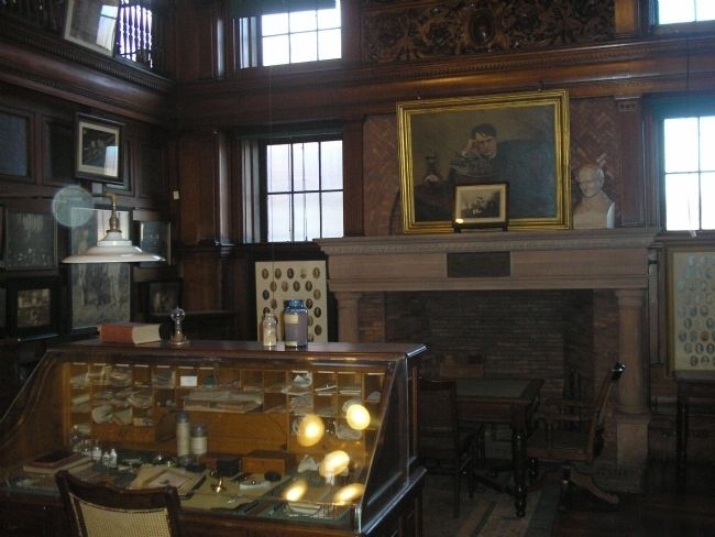 Thomas Edison's Library image. Click for full size.