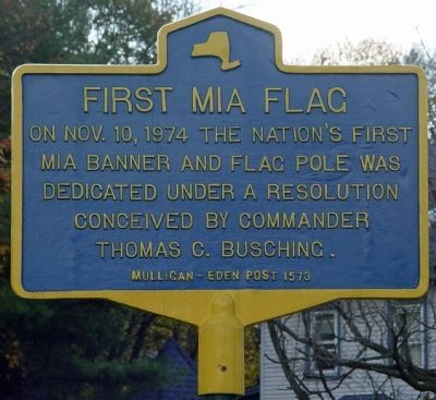 First MIA Flag Marker image. Click for full size.