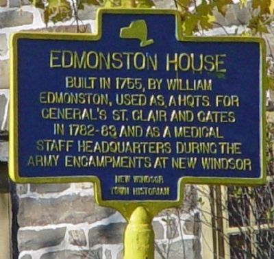 Edmonston House Marker image. Click for full size.