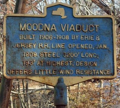 Moodna Viaduct Marker image. Click for full size.