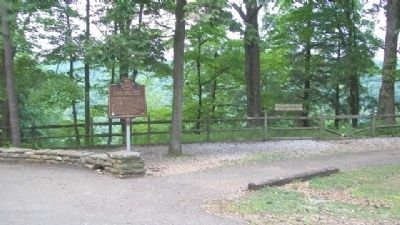 Clear Fork Gorge Marker image. Click for full size.