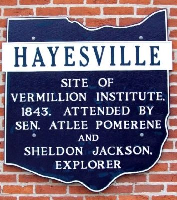 Former Hayesville Corporate Limit Marker image. Click for full size.