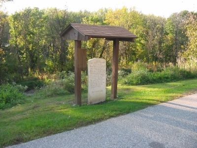 Site of Red Bird's Village Marker image. Click for full size.