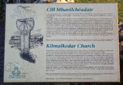Kilmalkedar Church / Cill Mhaoilchéadair Marker image. Click for full size.