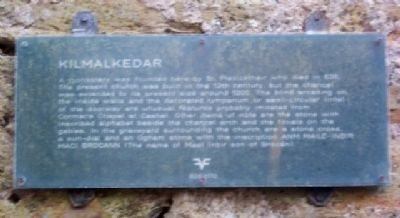 Older Kilmalkedar Marker image. Click for full size.