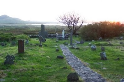 View West from Kilmalkedar Church image. Click for full size.