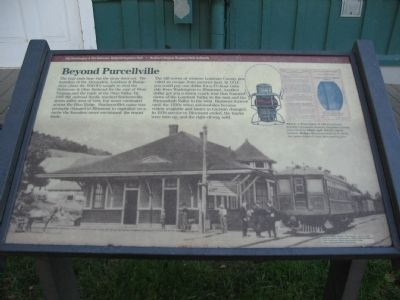 Beyond Purcellville Marker image. Click for full size.