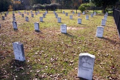 Confederate Cemetery at Milner image. Click for full size.