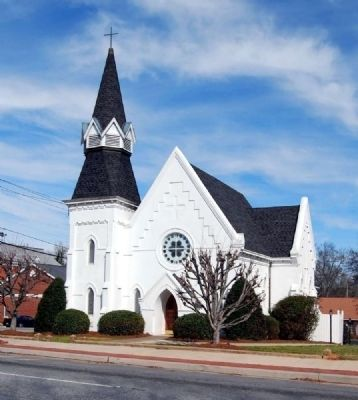 Sacred Heart Catholic Church (1885)<br>128 North Main Street image. Click for full size.