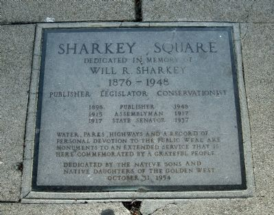 Sharkey Square Marker image. Click for full size.