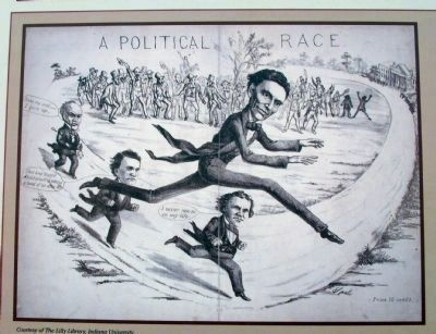 Close-up Photo - Illustration of : ' A Political Race ' image. Click for full size.