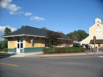 Purcellville Station Today image. Click for full size.