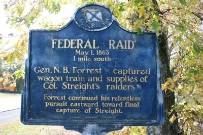 Federal Raid Marker image. Click for full size.