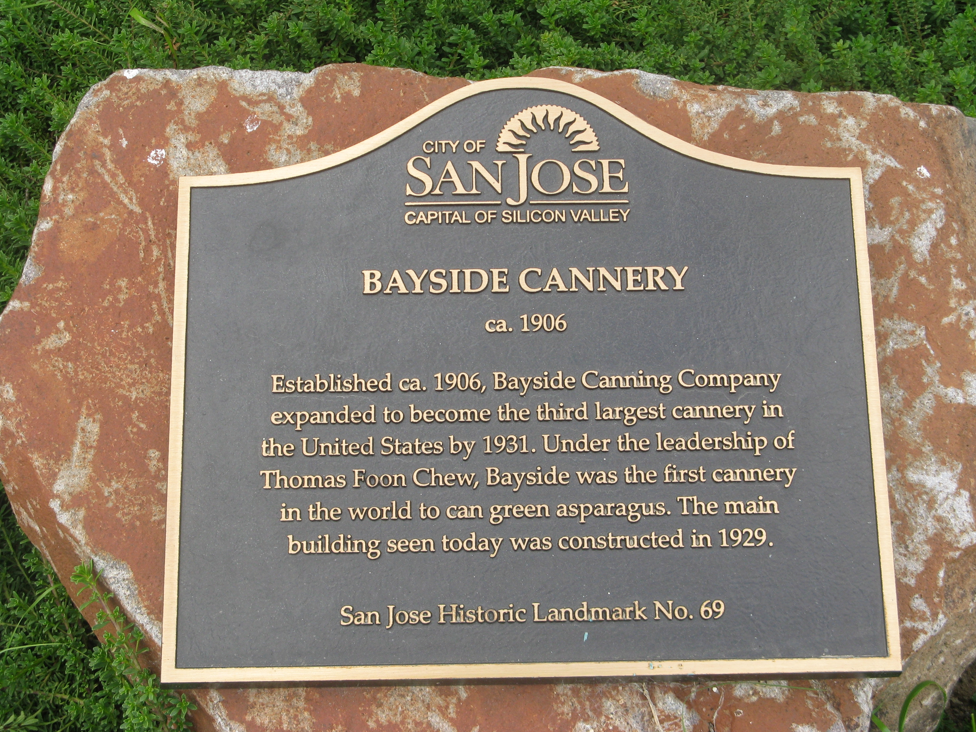 Bayside Cannery Marker