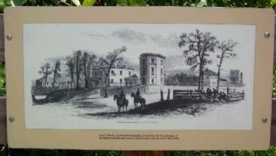 Engraving on Arsenal Park Marker image. Click for full size.