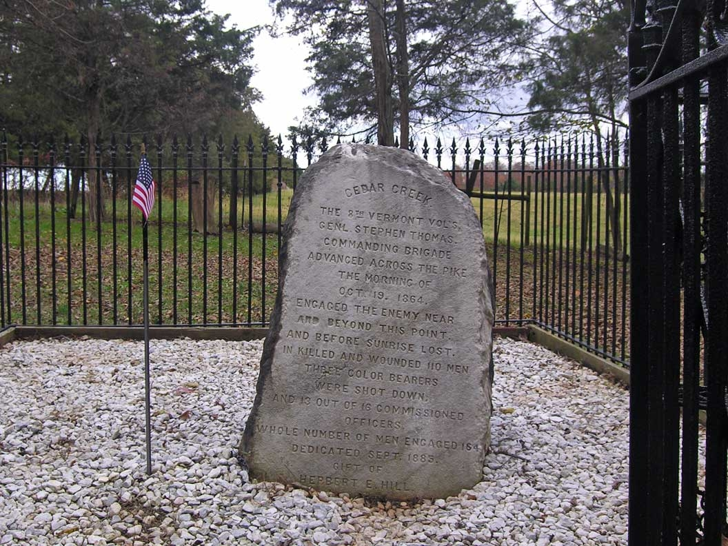 The 8th Vermont Volunteers Marker