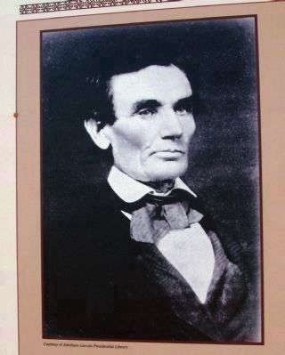 Close-up Photo - Abraham Lincoln image. Click for full size.