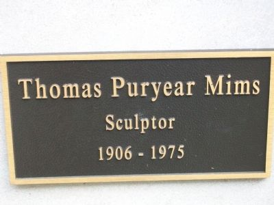 Plaque next to marker image. Click for full size.