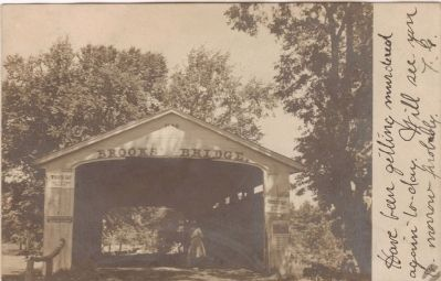 Brooks' Covered Bridge image. Click for full size.