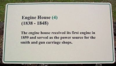 Engine House (1838 - 1848) Marker image. Click for full size.