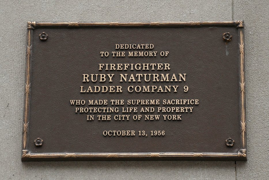Memorial Plaque on Building