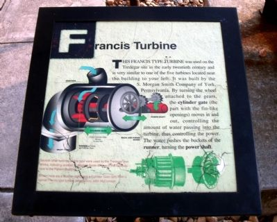 Francis Turbine Marker image. Click for full size.