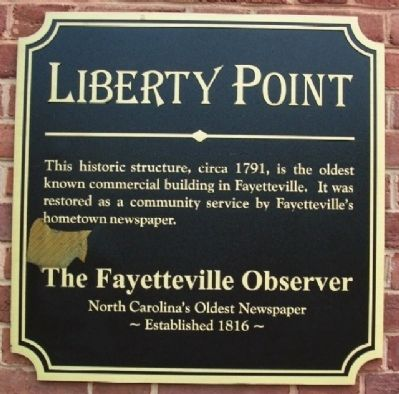Liberty Point Marker image. Click for full size.