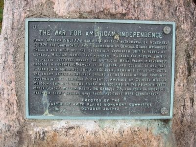 The War for American Independence Marker image. Click for full size.