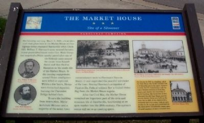 The Market House Marker image. Click for full size.