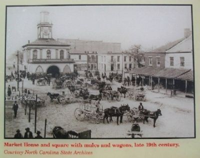 Market House Photo on Marker image. Click for full size.