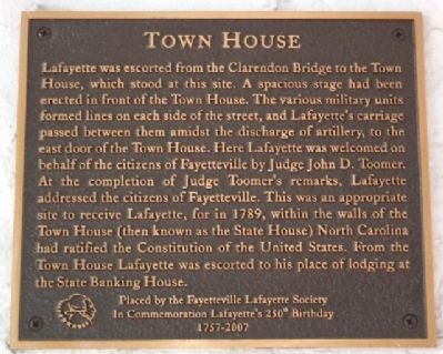 Town House Marker image. Click for full size.
