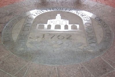 City Seal on Market House Floor image. Click for full size.