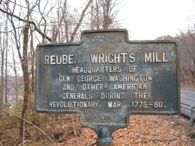 Reuben Wright's Mill Marker image. Click for full size.