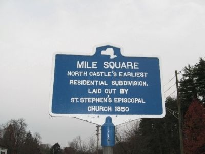 Mile Square Marker image. Click for full size.