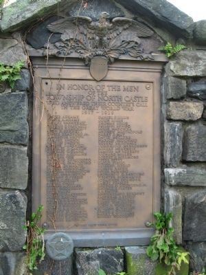 North Castle World War I Memorial image. Click for full size.