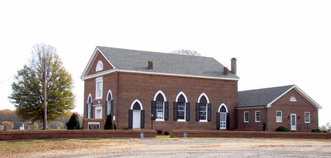 Morattico Baptist Church image. Click for full size.
