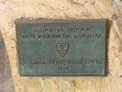Sunol Water Temple Marker image. Click for full size.