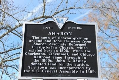 Town of Sharon Marker image. Click for full size.