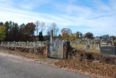 Sharon Associate Reformed Presbyterian Church Cemetery image. Click for full size.