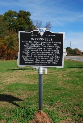 McConnells Marker image. Click for full size.