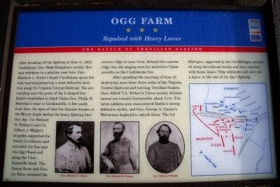 Ogg Farm CWT Marker image. Click for full size.